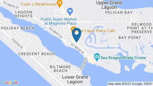 Hampton Inn Panama City Beach Map