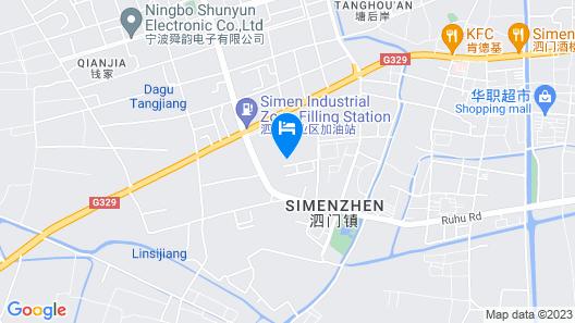 Qindao International Hotel Map