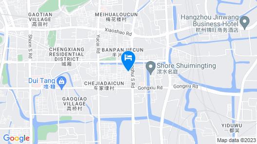 Hangzhou Xiaoshan Sky Hotel Map