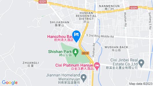 CiXi Hangzhou Bay Hotel Map