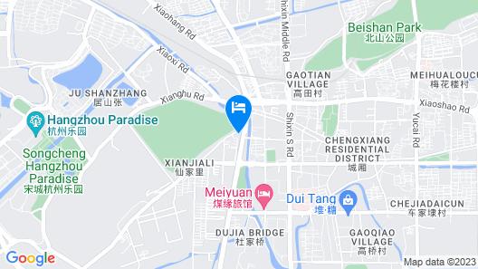 New Century Zhejiang Xiaoshan Hotel Map