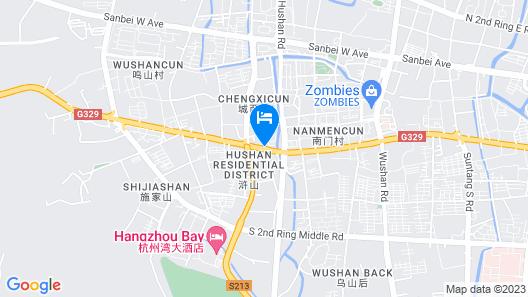 Jinjiang Inn Ningbo Cixu Huancheng South Road Hushan Road Map