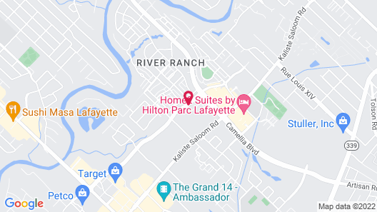SpringHill Suites by Marriott Lafayette South at River Ranch Map