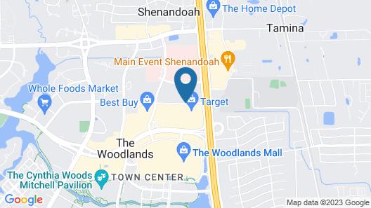 Residence Inn Houston The Woodlands / Lake Front Circle Map