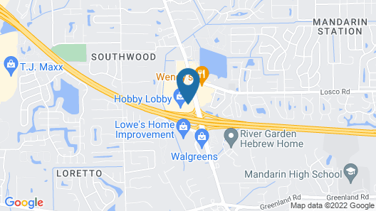 Holiday Inn Express Hotel & Suites Jacksonville South I-295, an IHG Hotel Map