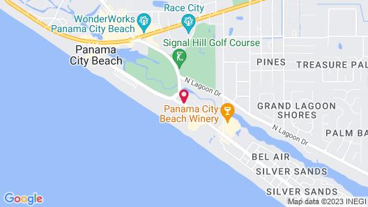 Boardwalk Beach Resort by Royal American Beach Getaways Map