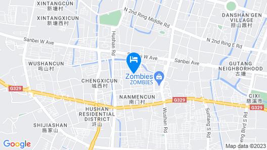 EXCEMON CIXI GUOMAI HOTEL Map