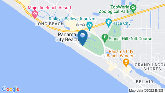 Boardwalk Beach Hotel Map