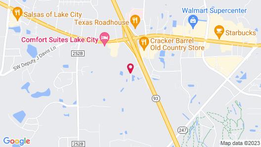 Fairfield Inn & Suites Lake City Map