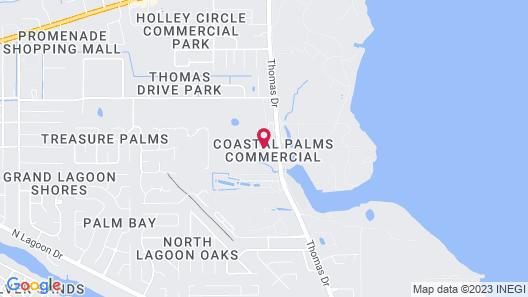 La Quinta Inn & Suites by Wyndham Panama City Beach Map
