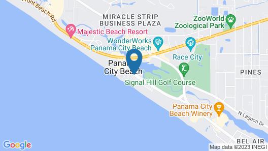 Sunbird Beach Resort by Resort Collection Map