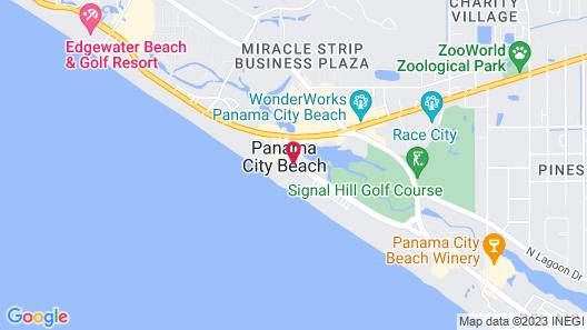 Shores of Panama Beach Resort Map