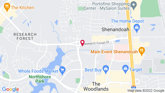 Hyatt Place Houston / The Woodlands Map