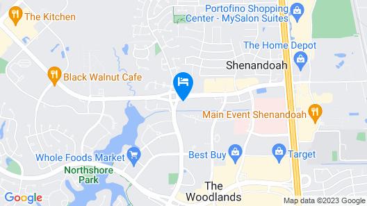 Hyatt Place Houston / The Woodlands Map