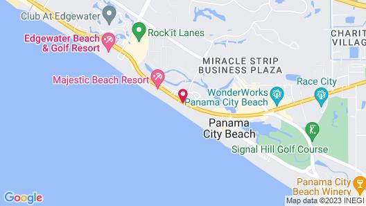 Ocean Villa by Royal American Beach Getaways Map