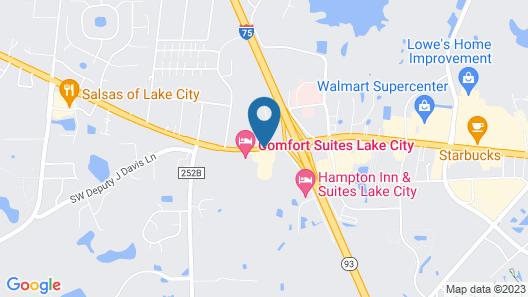 Baymont by Wyndham Lake City Map
