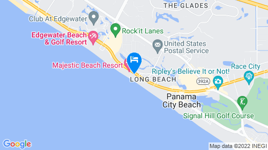 Majestic Beach Resort by Resort Collection Map