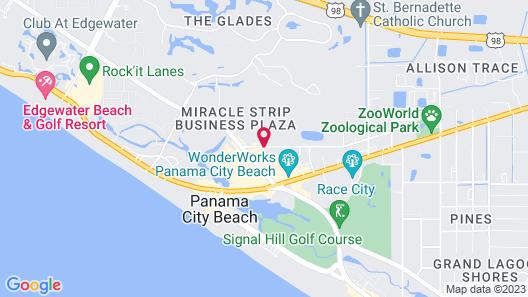 Country Inn & Suites by Radisson, Panama City Beach, FL Map