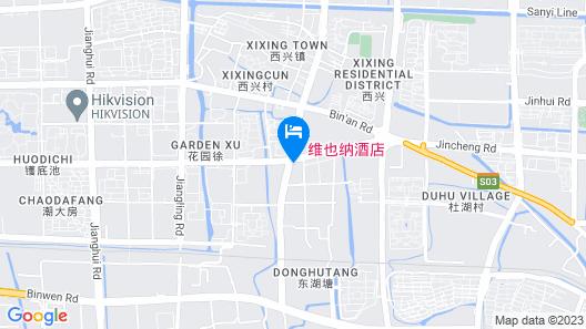 Vienna Hotel Hangzhou Xianghu Branch Map