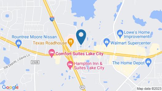 La Quinta Inn & Suite by Wyndham Lake City Map
