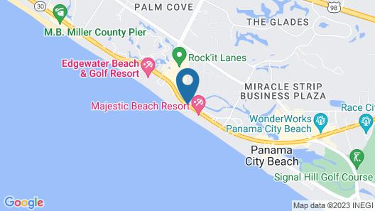 Bikini Beach Resort Map