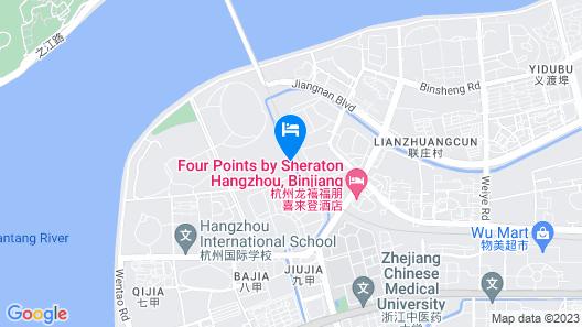 Four Points by Sheraton Hangzhou, Binjiang Map