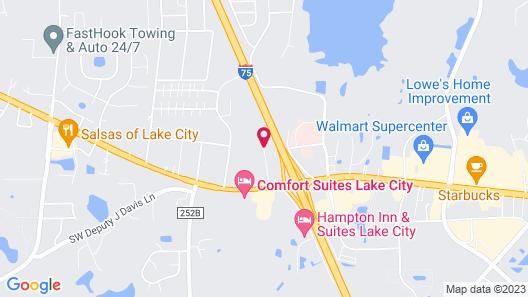 Tru by Hilton Lake City Map