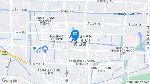 New Century Grand Hotel Hangzhou Map