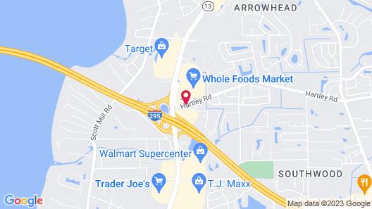 La Quinta Inn & Suites by Wyndham Jacksonville Mandarin Map