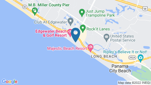 Edgewater Beach and Golf Resort by Resort Collection Map