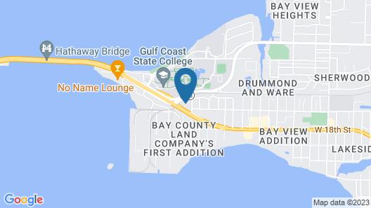 Hathaway Inn Map