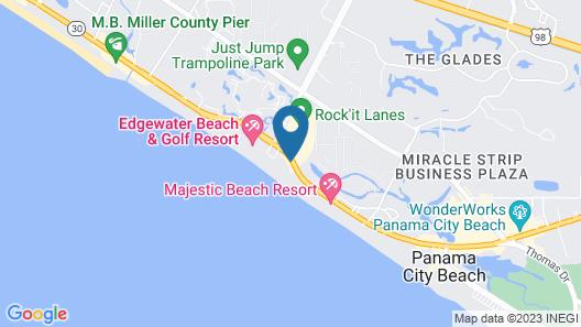 Holiday Inn Resort Panama City Beach, an IHG Hotel Map