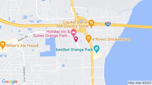 Courtyard Jacksonville Orange Park Map