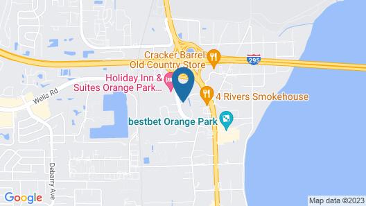 Fairfield Inn by Marriott Jacksonville Orange Park Map