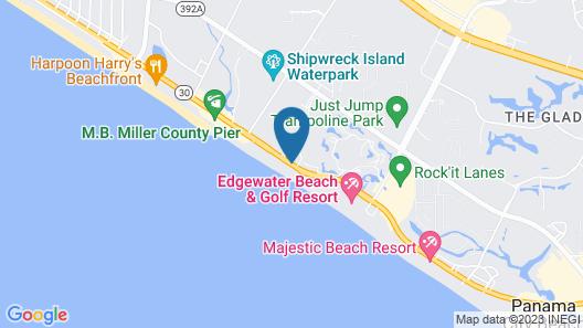 Grand Panama Beach Resort by Emerald View Resorts Map