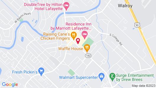 Residence Inn Marriott Airport Map
