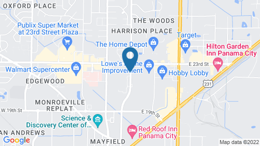 Country Inn & Suites by Radisson, Panama City, FL Map