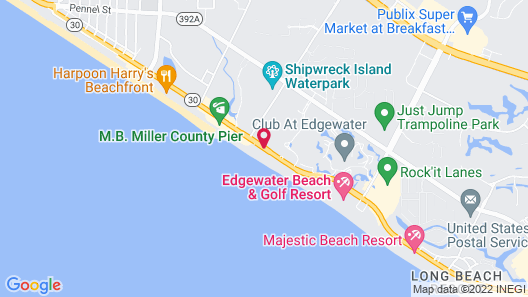 Beach Tower By The Sea Map