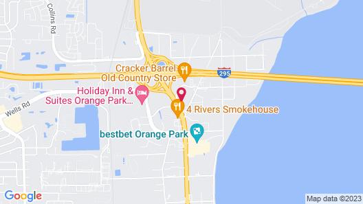Hampton Inn & Suites Jacksonville / Orange Park Map