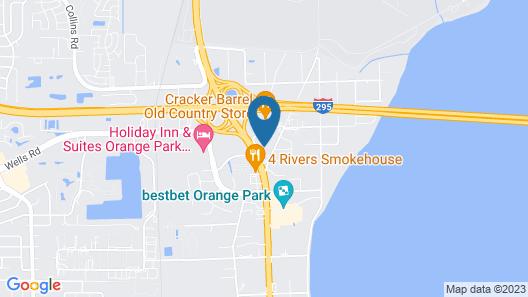Hilton Garden Inn Jacksonville Orange Park Map