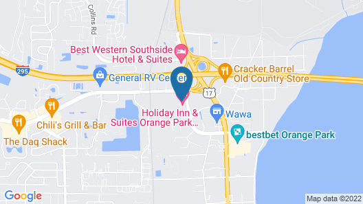 Holiday Inn Hotel & Suites Orange Park, an IHG Hotel Map