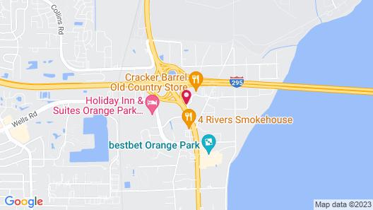 Days Inn by Wyndham Orange Park/Jacksonville Map