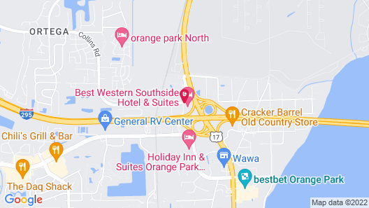 Best Western Southside Hotel & Suites Map