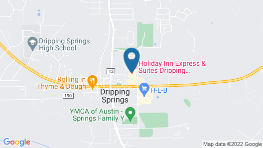 Holiday Inn Express & Suites-Dripping Springs - Austin Area, an IHG Hotel Map