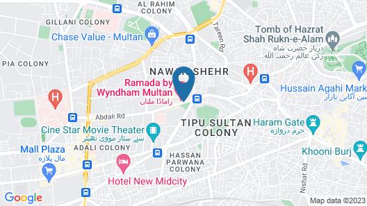 Ramada by Wyndham Multan Map