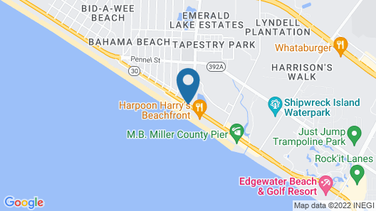 Days Inn by Wyndham Panama City Beach/Ocean Front Map