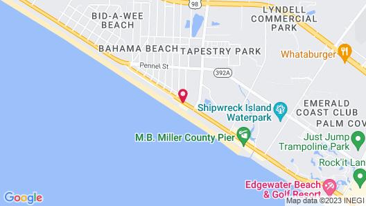 Holiday Inn Express & Suites Panama City Beach - Beachfront, an IHG Hotel Map