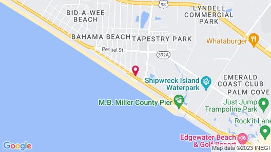 Banana Peel Resort Map