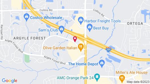 Motel 6 Jacksonville, FL - Orange Park Map