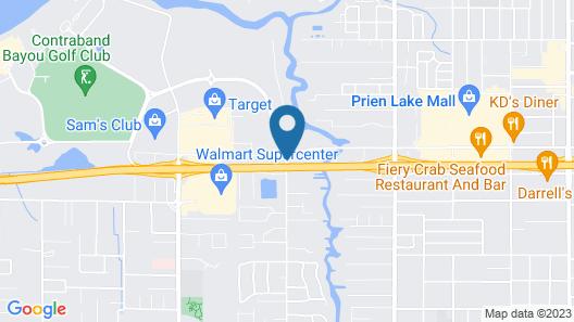 Hampton Inn Lake Charles Map